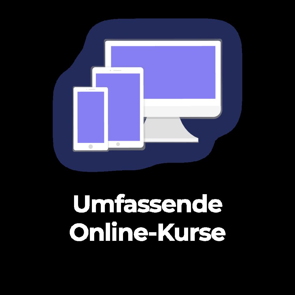 Umfassende Online-Kurse