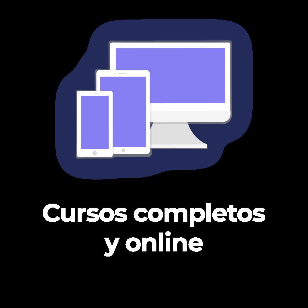 Cursos completos y online