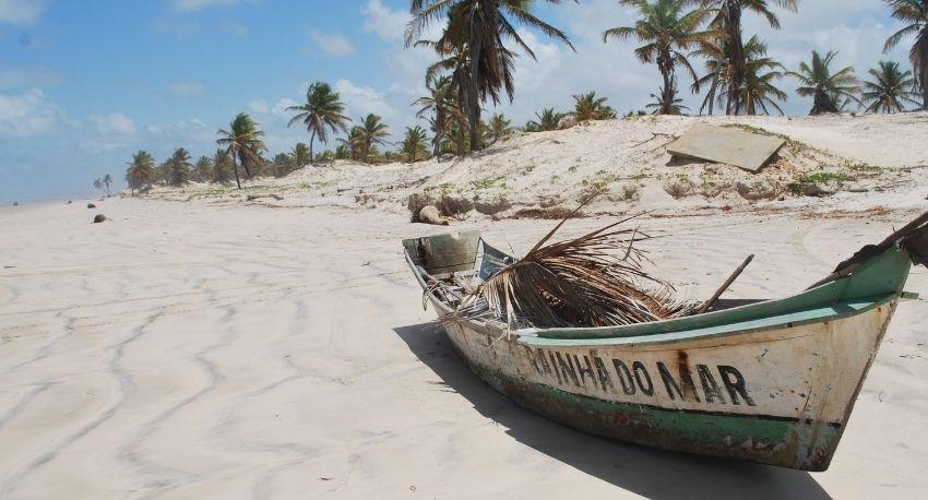 Boat in Bahia Brazil