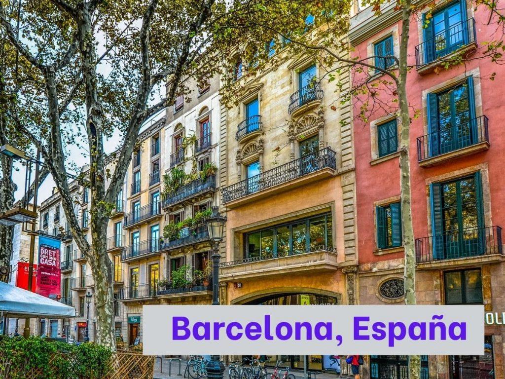 Aprende español para viajar a Barcelona