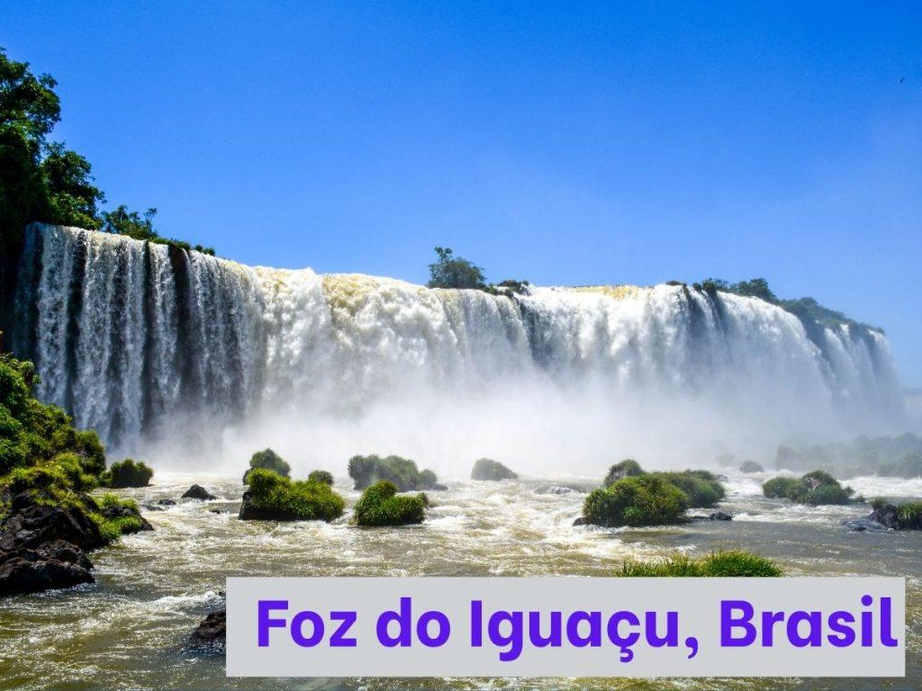 Aprende portugués para conocer las cataratas del Iguazú