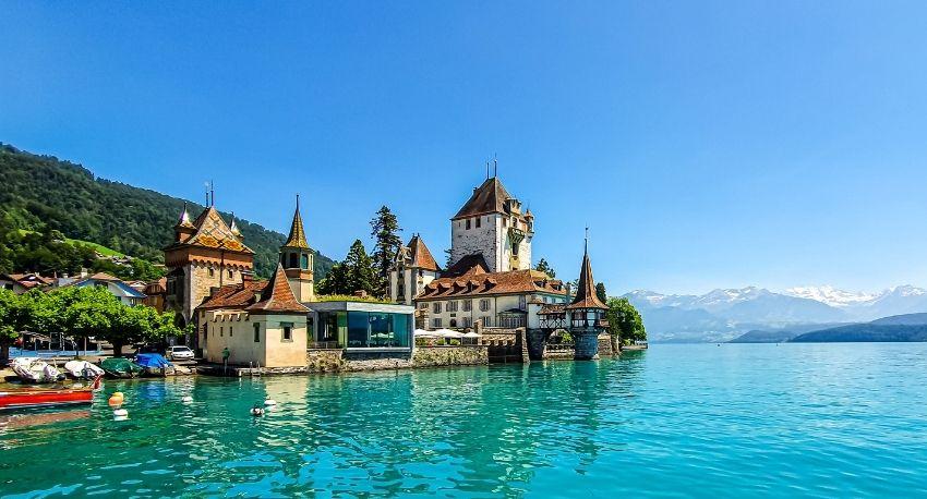 Vista del lago de Constanza en Alemania
